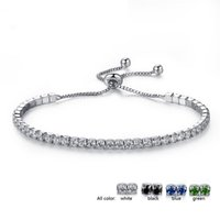 Fashion Cubic Zircon Tennis Bracelet & Bangles For Women Gif...