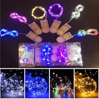 led string CR2032 Battery Operated Micro Mini Light Copper S...