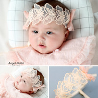 2019 baby hair band butterfly lace hair accessories baby hea...