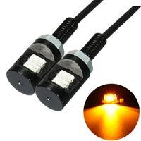 4 stücke Motorrad Nummern Kennzeichen Beleuchtung 12V LED 5630 SMD Auto Heck Frontschraube Bolzenlampen