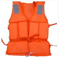 Высокое качество взрослых пена флотации плавательный спасательный жилет жилет со свистком хождение плавательный безопасности спасательный жилет рыбалка