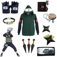 Asian Size Japan Anime Naruto Kakashi Hatake Hokage Hallowee...