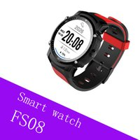 FS08 Swimming Smart Watch para teléfonos iOS y Android Waterproof con Heartrate Monitor Fitness Tracker viene con paquete de caja