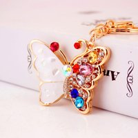 New Fashion Butterfly Fly Lovely Crystal Charm Pendant Purse...