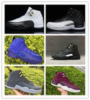 New 12 XII taxi playoffs master blue Dark Grey Bordeaux men ...