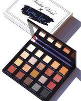 바이올렛 voss Laura Lee Eye Shadow 팔레트 20 색상 한정판 메이크업 지구 컬러 아이 섀도우 팔레트.