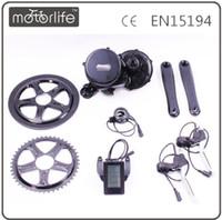 Bafang / 8fun Mid Drive Central Moteur 36V / 48V 250/350/500/750 / 1000W BBS01 / 02 / DH Contrôleur Manivelle Moteur Eletric Bicyclettes Conversion Ebike Kits