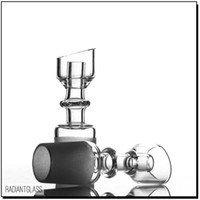 Manufacturer Quartz Honey Hole 14. 5mm 18. 8mm Male Domeless Q...