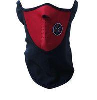 Airsoft Warm Fleece Bike Halbe Gesichtsmaske Cover Face Hood Schutz Ski Radfahren Sport Outdoor Winter Neck Guard Schal Warme Maske