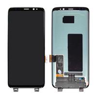 접촉 수 치기 회의 검정 자유로운 DHL 납품 s8를 가진 Samsung 은하 S8 G950를위한 LCD 디스플레이