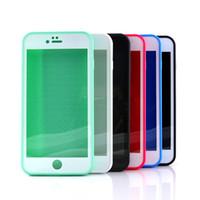 Cajas de teléfono impermeables Ultra-Premium a prueba de golpes Buceo subacuático bolsa de funda completa para iPhone 8 X 7/7 más 6 / 6s más 5 / 5s