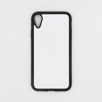 För iPhone 13 mini / 12 11 Pro / XS max / XR / 8/6 plusfall TPU + PC-gummi Mjukt 2D-sublimering Blank för Samsung S20 Ultra Heat Transfer Phone Cover Case