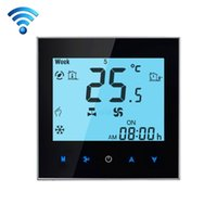 WIFI Control Weekly Programming Fan Coil Room Thermostat AC ...