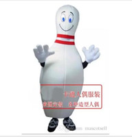 2018 High quality bowling ball mascot costume adult size fac...