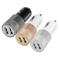 Adaptateur USB double USB Autolader 5 V 2.4A Iphone X 8 7 Plus Chargeur voiture Samsung S6 S5 USB
