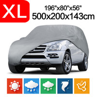 New Outdoor Indoor Full Car Cover Sun UV Snow Dust Resistant...