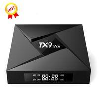 M12 TX9 PRO Octa Core Android 7.1 Amlogic S912 TV BOX 3G 32G 2.4G 5G WiFi Bluetooth Media Player BETTER T95Z PLUS M8S MXQ PRO