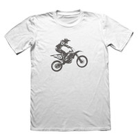 Motocross Bikeing Design T-Shirt - Funny Men's Gift # 5580 top camiseta de envío gratis funny 100% Cotton t shirt