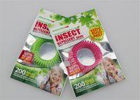 Bracelet anti-moustique 2018 Anti-moustique Anti-insectes Anti-répulsif Bracelet anti-moustique Mozzie Anti-insectes Éloignez les insectes Couleur mélangée