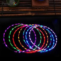 24 Coloratissimi LED a bagliore Hula Hoop Multicolor Performance Hoop Toys