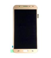 Samsung J7 Dokunmatik Lcd Ekran Meclisi J700 Cep Telefonu Ekran Meclisi için Parlaklık Telefon Lcd Ayarlanamaz