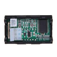 0-100V 0-10A Amperometro per auto Monitor per batteria Voltmetro digitale Tester per corrente elettrica per moto