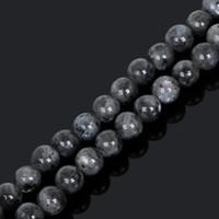 8mm Nova Chegada 4/6/8 / 10mm 38 cm / fio Pedra da lua talão Pedra preciosa Pedra da lua negra Pedra redonda Contas soltas para fazer jóias