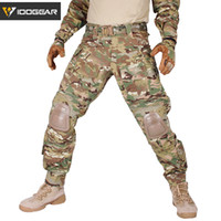 IDOGEAR G3 Combat Pants with Knee Pads  Tactical Trousers MultiCam CP gen3 Hunting Camouflage
