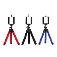 حامل ثلاثية الكاميرا الهاتف الخليوي حامل المحمول كليب الهواتف الذكية monopod tripe حامل الأخطبوط 3 الألوان المتاحة