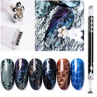 Double End Nail Art Magnetic Stick Dual Side Tip for All 3D ...