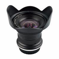 Lightdow 15mm F / 4 F4.0-F32 Ultra Grand Angle 1: 1 lentille macro pour Canon Nikon SLR numérique DSLR