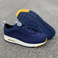 Wholesale new Sean Wotherspoon SW Blue men running shoes wom...