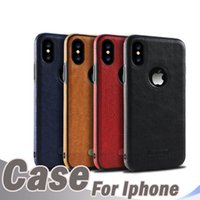 Luxury phone case for iphoneXs Max XR business leather case ...