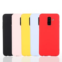 Candy Color Case For Samsung Galaxy S9 Plus S8 S7 S6 A5 A7 J...