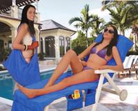 215 * 75 سنتيمتر كرسي الشاطئ منشفة ستوكات حمام شمس الجليد كرسي غطاء المتسكع بطانية المحمولة مع حزام مناشف الشاطئ طبقة مزدوجة