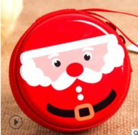 Grenzüberschreitende Blechblech Münze Geldbörse Zubehör Weihnachten Anhänger Mehrfarbige Matte Jingle Bell Ornamente