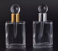 17 ml damlalık Boş Doldurulabilir Şişe Lady Hediye Vintage Cam Parfüm Şişesi taşınabilir parfüm şişesi portab