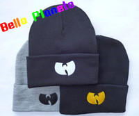 2018 New Popular WUTANG Embroidered Knit Hat Hip Hop Street Dance Ski Caps Caps Hats Men And Women Winter Hat
