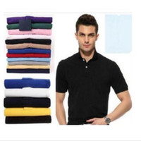 Venta caliente Bordado de verano Nuevos diseños Polo Camisa Hombres Manga corta Casual Hombres Camisas Slim Fit Polo Algodón Hombres Polo
