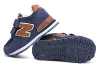 Children New Brand 574 Casual Sport Shoes Boys And Girls Sne...