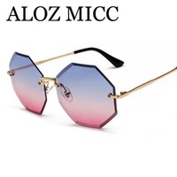 ALOZ MICC New Fashion Summer Unique Sunglasses Women Brand D...