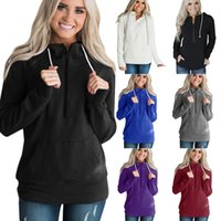 Autumn Winter hoodies Women' s1 4 Zipper Sherpa Soft Fle...
