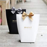 DIY White Merci Wedding Gift Box Birthday Cookies Box Happy ...