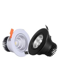 Dimmable 10W COB Recessed LED Spot light led Ceiling Down la...