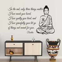 Living Room Home Decor Wallpaper Only Three Things Matter Yo...