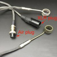 Electric Nail ajuste 16 milímetros 20 milímetros aquecedor bobina UE US bobina Bobinas Heater caber Enail Dnail 110V 240V 5 Pin XLR Masculino plug