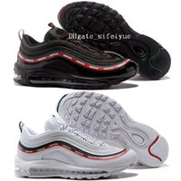 Best Men Shoes 97 Undefeated x OG Running Shoes Sneakers Wom...