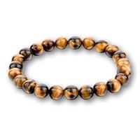 Мода 8 мм чакра тигровый глаз Будда браслеты для женщин мужчины натуральный камень круглый бусины браслет Лава ювелирные изделия