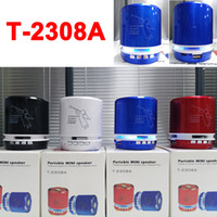 T- 2308A Angel Pattern Bluetooth LED Speakers Metal Material ...