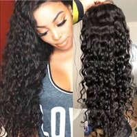 loose curl full lace wig hot selling 10a quality natural hai...